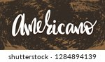 vector illustration with hand... | Shutterstock .eps vector #1284894139