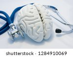 concept of diagnosis and... | Shutterstock . vector #1284910069