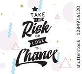 inspirational quote  motivation.... | Shutterstock .eps vector #1284916120
