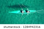 aerial drone top view photo of... | Shutterstock . vector #1284942316