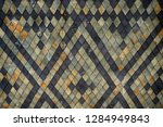old roof texture as nice... | Shutterstock . vector #1284949843
