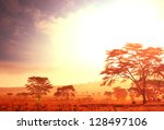 African Sunrise Landscape