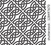 background seamless celtic... | Shutterstock .eps vector #128497670
