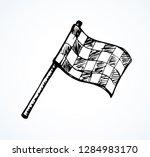 old flat wave 1 object sporty... | Shutterstock .eps vector #1284983170