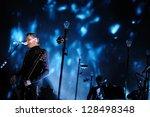 barcelona   feb 16  sigur ros... | Shutterstock . vector #128498348