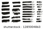 paint brush thin background  ... | Shutterstock .eps vector #1285004863