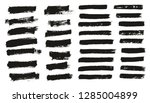 paint brush thin background  ... | Shutterstock .eps vector #1285004899
