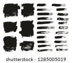 paint brush thin background  ... | Shutterstock .eps vector #1285005019