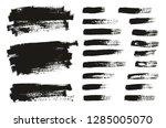 paint brush thin background  ... | Shutterstock .eps vector #1285005070