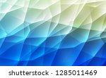 light blue  green vector... | Shutterstock .eps vector #1285011469