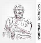 Pythagoras Of Samos Vector...