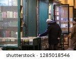turin  italy   january 14  2019 ... | Shutterstock . vector #1285018546