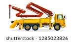 concrete pump  commercial... | Shutterstock .eps vector #1285023826