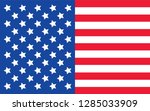 vector abstract country flag... | Shutterstock .eps vector #1285033909
