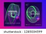 trance event. futuristic... | Shutterstock .eps vector #1285034599