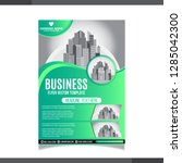 business annual report brochure ... | Shutterstock .eps vector #1285042300