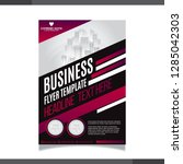 business annual report brochure ... | Shutterstock .eps vector #1285042303