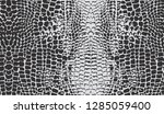 seamless crocodile skin pattern | Shutterstock .eps vector #1285059400