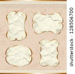 Romantic Paper Borders Set