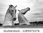 falkirk  scotland   27 july... | Shutterstock . vector #1285072276