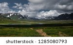 panorama of the open nature in... | Shutterstock . vector #1285080793