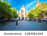 brussels  belgium   july 17 ... | Shutterstock . vector #1285081069