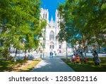 brussels  belgium   july 17 ... | Shutterstock . vector #1285082116