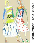 Fashion Sketch Inspired By...