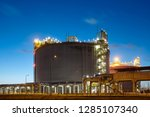 liquefied natural gas  lng ... | Shutterstock . vector #1285107340