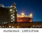 liquefied natural gas  lng ... | Shutterstock . vector #1285119166