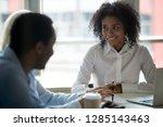 african millennial... | Shutterstock . vector #1285143463