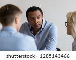 diverse millennial people...   Shutterstock . vector #1285143466