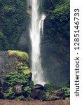 sekumpul waterfall in the green ... | Shutterstock . vector #1285146733