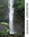 sekumpul waterfall in the green ... | Shutterstock . vector #1285146736
