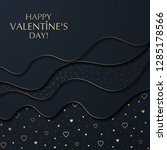 the valentine's day background... | Shutterstock .eps vector #1285178566