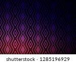 dark purple vector texture with ... | Shutterstock .eps vector #1285196929
