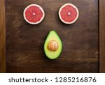fruits raw healthy | Shutterstock . vector #1285216876