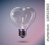 valentines day background.... | Shutterstock .eps vector #1285223023