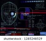 sci fi app hud screen  concept...