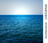 the blue ocean | Shutterstock . vector #128528468