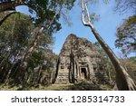 A temple called S1 at Prasat Yeah Puon in Sambor Prei Kuk in Cambodia