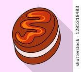 vector design of confectionery... | Shutterstock .eps vector #1285318483