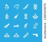weapon icons set with sniper ... | Shutterstock .eps vector #1285323070