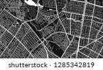 design black white map city... | Shutterstock .eps vector #1285342819