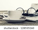 Composition Of Coffee Cup...
