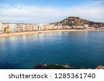 small and cozy bay of...   Shutterstock . vector #1285361740