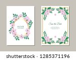 vector illustration set of... | Shutterstock .eps vector #1285371196