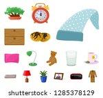 vector illustration of dreams... | Shutterstock .eps vector #1285378129