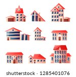 cute toys in nice colors at...   Shutterstock .eps vector #1285401076