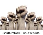 people united in protest icon... | Shutterstock . vector #1285426336